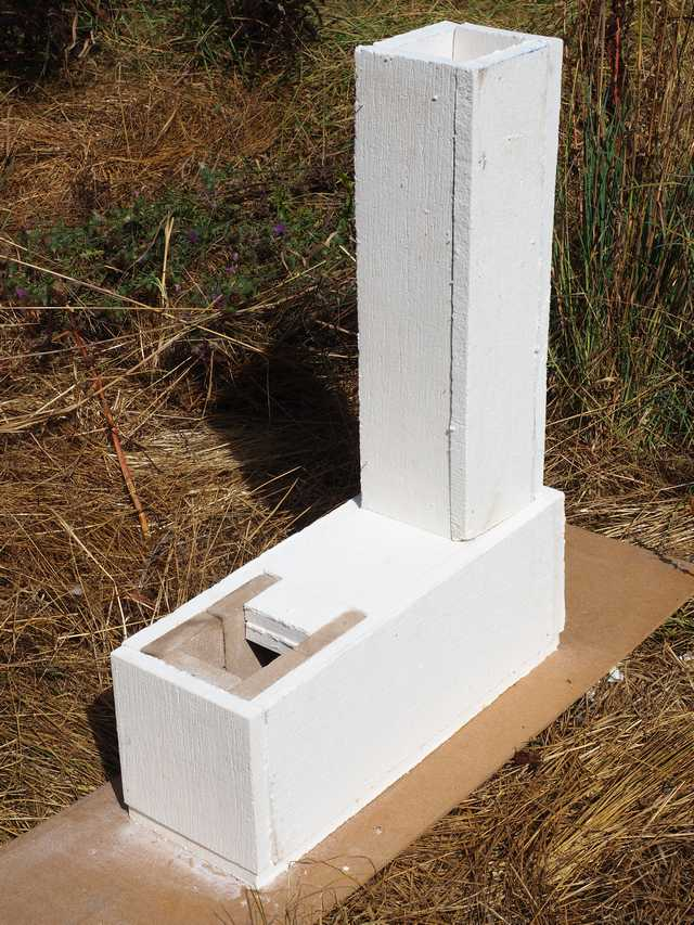 Rocket Stove Core Plans Eight Inch J